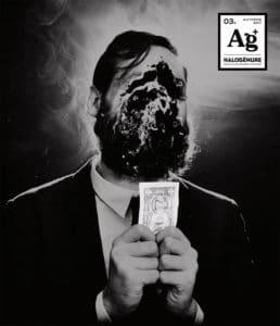 Couverture du cahier 03A du troisième numéro de la revue Halogénure - Revue de photographie aléatoire