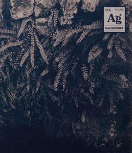 Couverture du Cahier C - Troisième numéro d'Halogénure ) Revue de photographie aléatoire