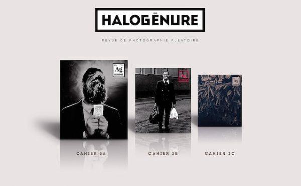 Le troisième numéro d'Halogénure, revue de photographie aléatoire