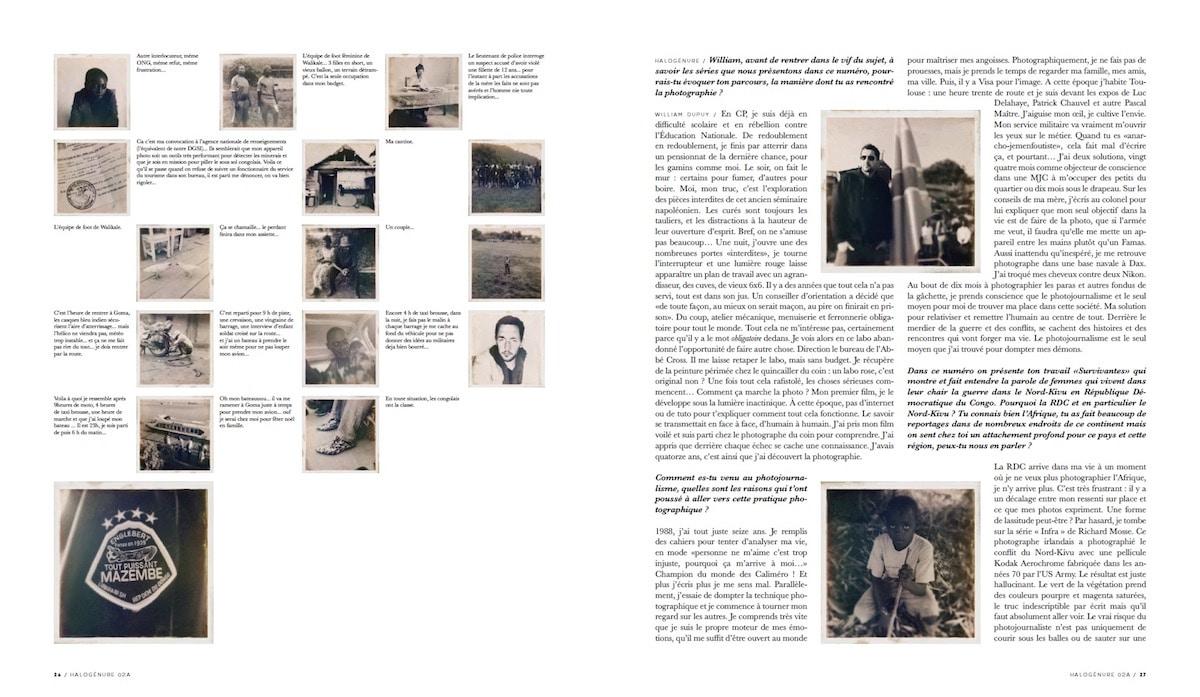 Halogénure #02 - Pages intérieures