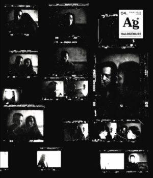 Couverture du cahier 04A du quatrième numéro de la revue Halogénure - Revue de photographie aléatoire