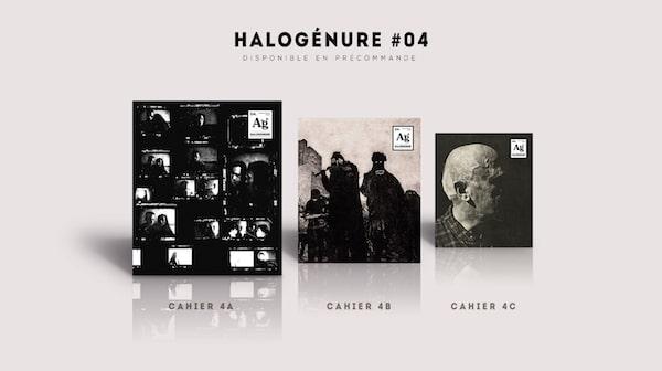 précommande du quatrième numéro de la revue Halogénure, revue de photographie aléatoire