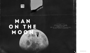 Man on the moon - Manu Jougla - B2 Editions