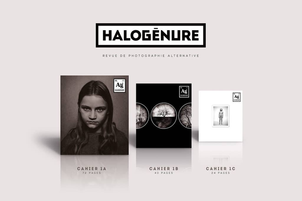 Le premier numéro d'Halogénure, revue de photographie alternative et aléatoire